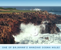 One of Bajamar's amazing ocean holes